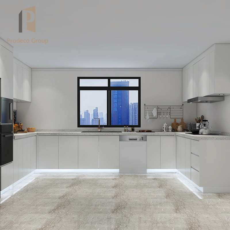 Solid Wood Kitchen Cabinets White