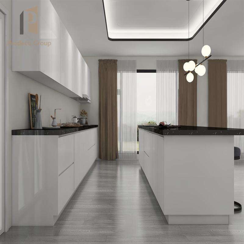 China Kitchen Cabinets Acrylic