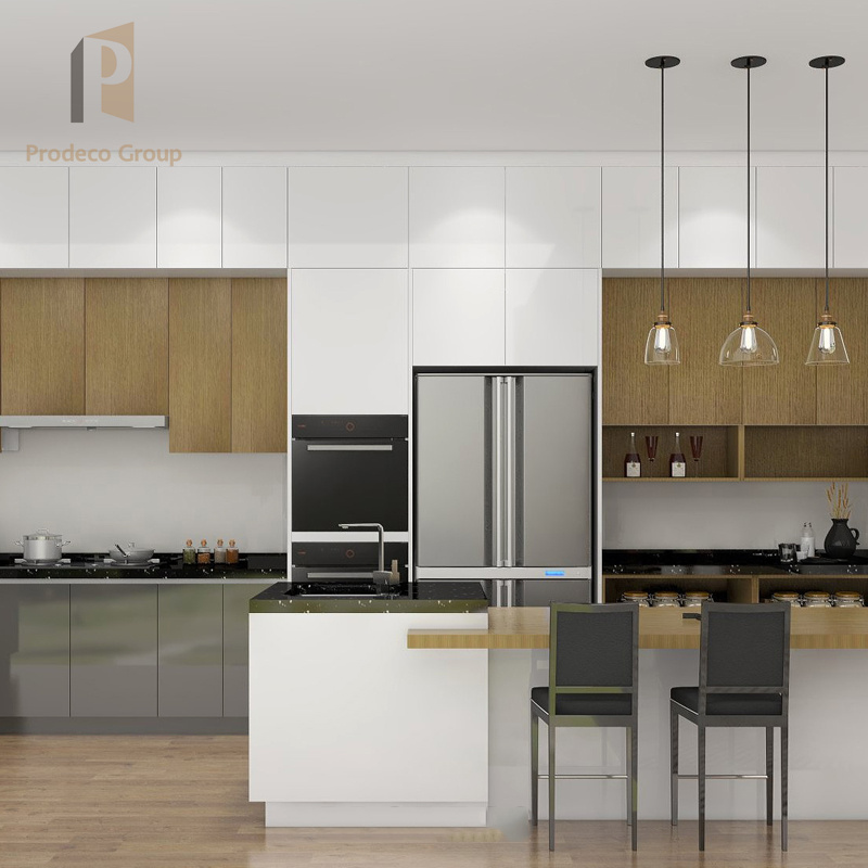 Kitchen Cabinet with PVC