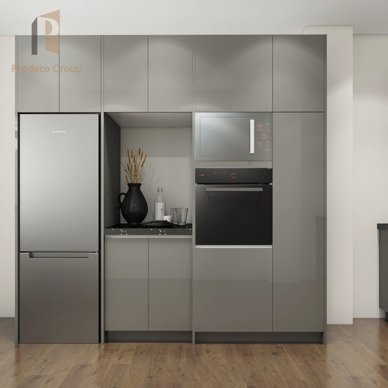 Lacquer Kitchen Cabinets China