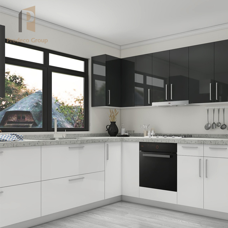 Gloss Front Kitchen Cabinet Exporter