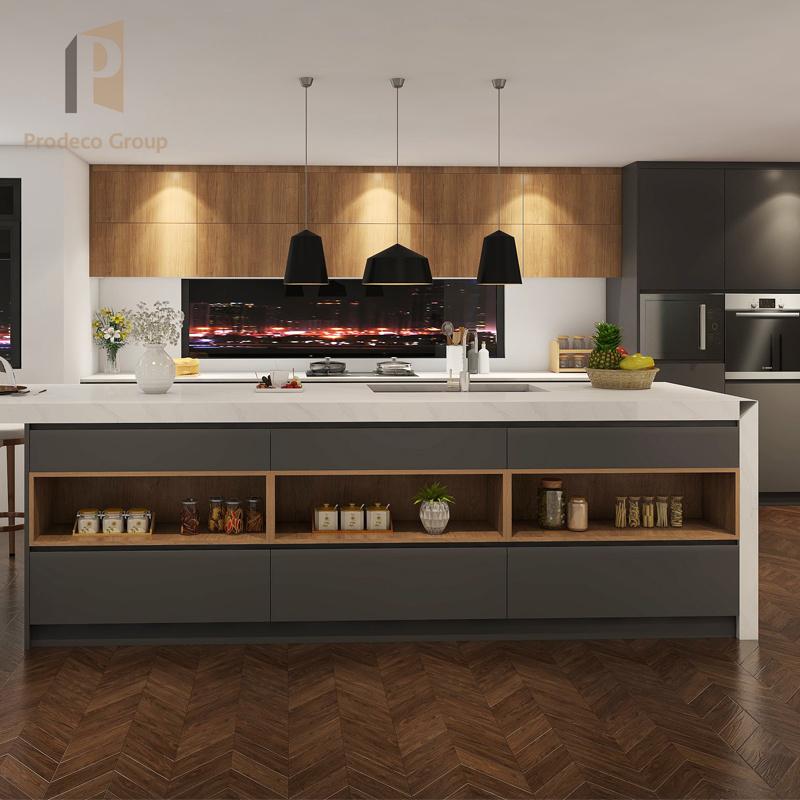 Melamine Kitchen Gloss Cabinet