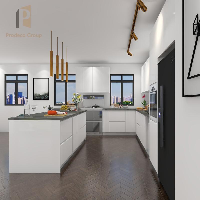 Acrylic Kitchen Apartment