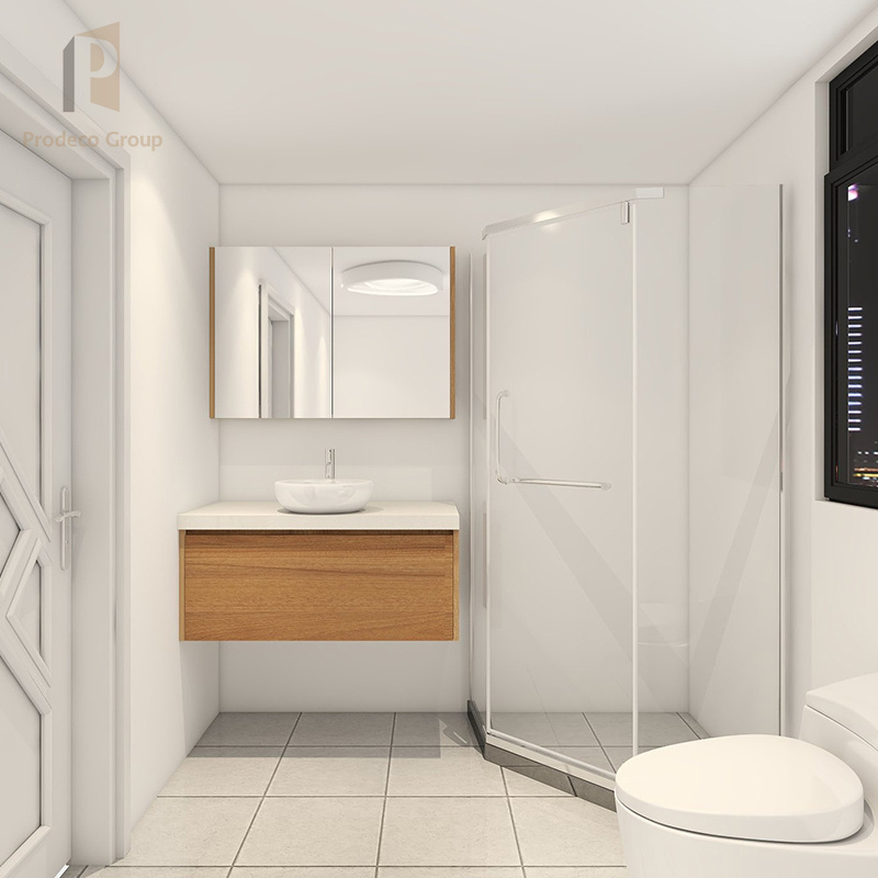 Apartment White Bathroom Cabinet
