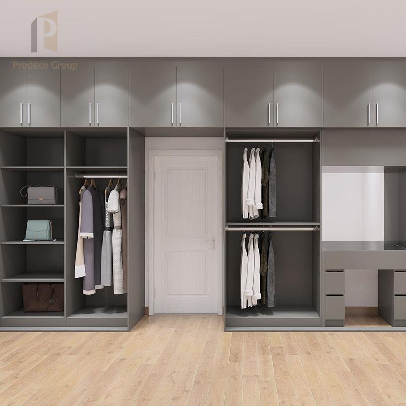 MDF Bedroom Wardrobe Modern