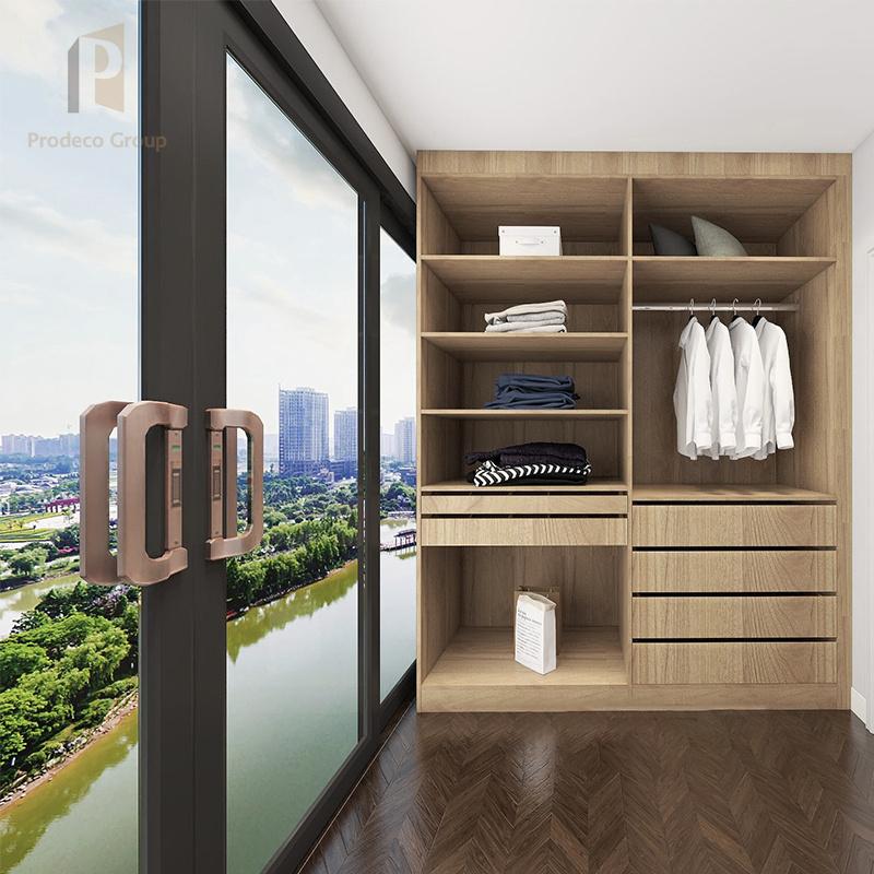 Apartment Plywood Wardrobe