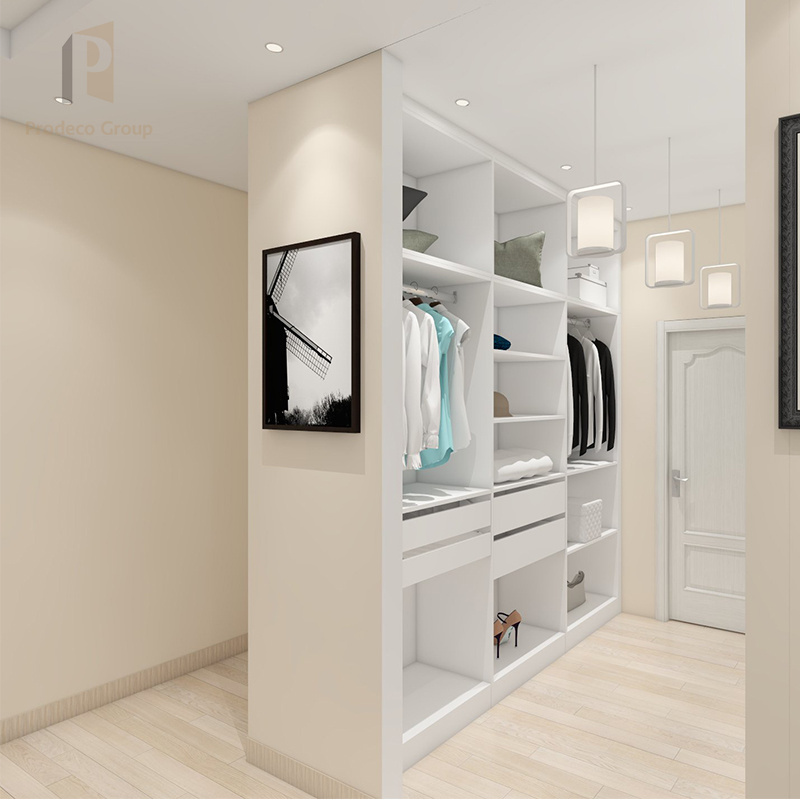 Clothing Wardrobe with Mirror